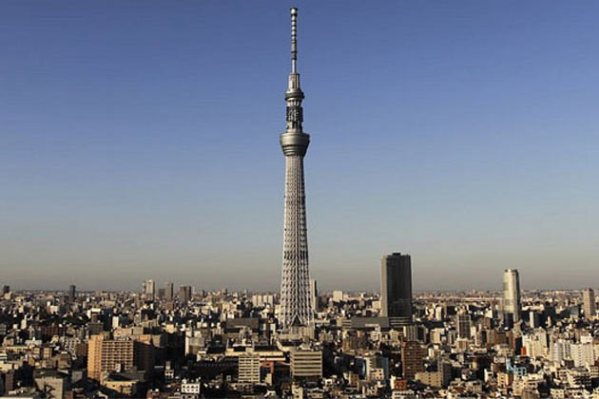 tokyo skytree worlds tallest tower