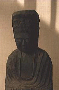 Buddhist Image at the Ankokuji Temple