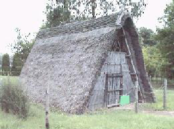 Reconstructed Tumulus Period House